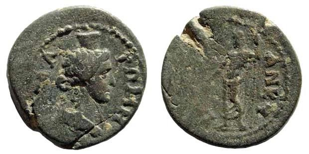 Ancient Coins - Phrygia, Ankyra. 2nd century AD. AE 19mm (3.66 gm). SNG Österreich 1417