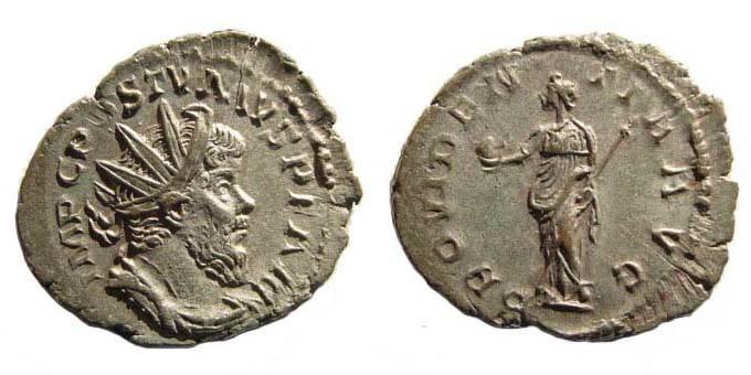 Ancient Coins - Postumus, Antoninianus, Providentia