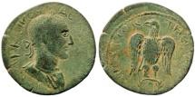 Kilikia, Antiocheia ad Kragos. Trajan Decius. 249-251 AD. AE 27mm (9.17 gm). SNG Levante 477 (same dies)