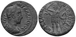 Ancient Coins - Ionia, Ephesos. Gallienus, 253-268 AD. AE 27mm (8.11 gm). Lindgren III A365A var.