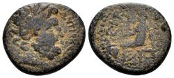 Ancient Coins - Seleucis and Pieria. Time of Nero. 54-68 AD. AE 20mm (4.88 gm). Dated CY 115 (66/7 AD). RPC I 4305