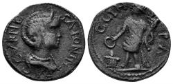 Ancient Coins - Mysia, Parion. Salonina, Augusta, 254-268 AD. AE 21mm (5.70 gm). SNG France 1539