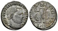 Ancient Coins - Licinius I. 308-324 AD. AE Follis (3.89 gm, 21mm). Nicomedia mint. Struck 313-315 AD. RIC 15