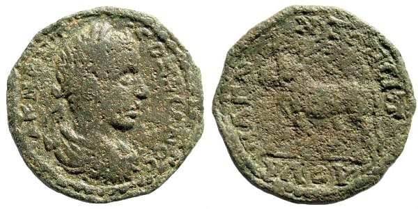 Ancient Coins - Lydia, Magnesia. Gordian III, 238-244 AD. AE 23mm (5.28 gm). SNG München 285 (same dies)