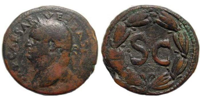Ancient Coins - Syria, Antioch, Vespasian, 69 - 79 n.Chr. AE 29.17 mm (17.61 g.). RPC 2009