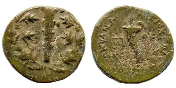Ancient Coins - Cilicia, Tarsos. Circa 175-164 BC. AE 21mm (6.44 gm). SNG France 2, 1280