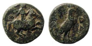 Ancient Coins - Troas, Dardanos, ca. 4th century BC, AE 13 mm