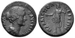 Ancient Coins - Pisidia, Palaiopolis. Faustina II. 147-175 AD. AE 20mm (5.20 gm). RPC Online 7692