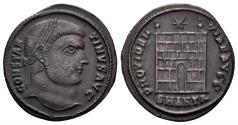 Ancient Coins - Constantine I. 307/310-337 AD. AE Nummus (2.99 gm, 20.5mm). Antioch mint, 326-327 AD. RIC VII 63