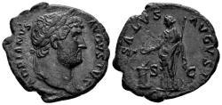 Ancient Coins - Hadrian. 117-138 AD. AE As (8.98 gm, 28mm). Rome mint. Struck circa 124-128 AD. RIC II 678