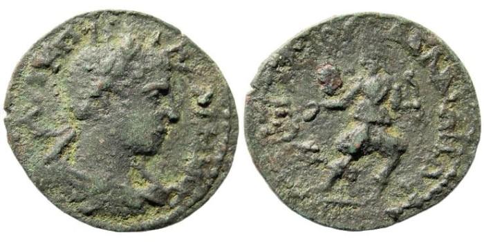 Ancient Coins - Lydia, Daldis. Gallienus, 253-268 AD. AE 25mm (4.85 gm). BMC 20