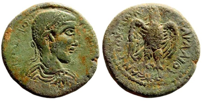 Ancient Coins - Kilikia, Antiocheia. Philip I, 244-249 AD. AE 29mm (13.00 gm). SNG Levante 476 (same dies)