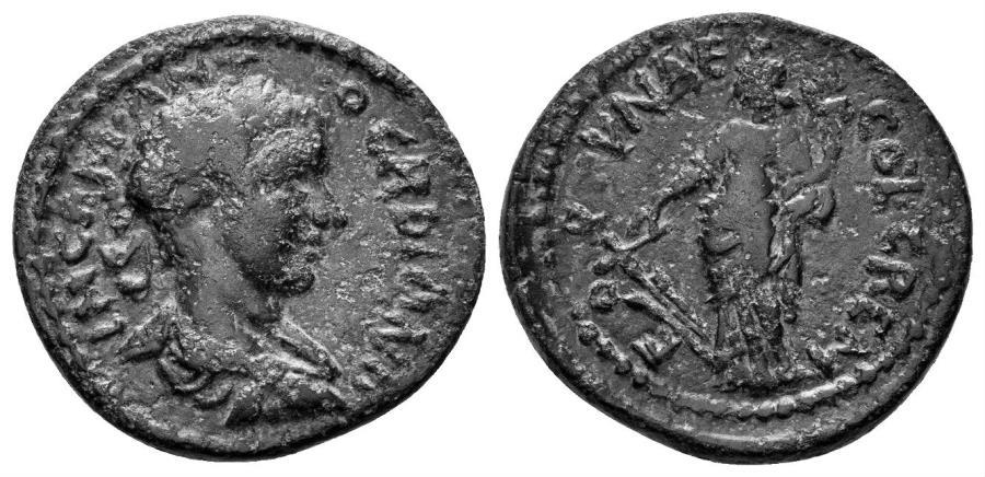 Ancient Coins - Pisidia, Cremna. Gordian III. 238-244 AD. AE 20.5mm (4.55 gm). Hans von Aulock, Pisidiens, 1378-82
