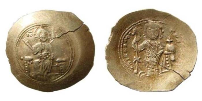 Ancient Coins - Nicephorus III, 1078-1081 AD, AV Histamenon (4.32 gm.). Constantinople mint. Sear 1881