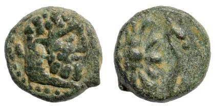 Ancient Coins - Pisidia, Selge. Circa 2nd-1st Century BC. AE 12mm (2.40 gm). SNG Copenhagen 263; SNG von Aulock 5288