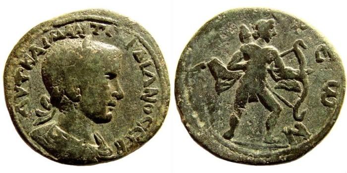 Ancient Coins - Lykia, Patara. Gordian III, 238-244 AD. AE30 (19.22 gm). Hans von Aulock, Die Münzprägung des Gorian III und der Tranquillina in Lykien, #222