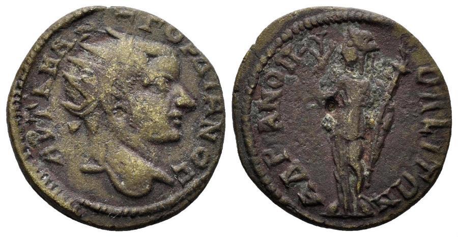 Ancient Coins - Thrace, Hadrianopolis. Gordian III. 238-244 AD. AE 21mm (4.45 gm). Jurukova, Hadrianopolis 659. Rare