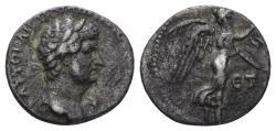 Ancient Coins - Cappadocia, Caesarea-Eusebia. Hadrian. 117-138 AD. AR Hemidrachm (1.81 gm, 13mm). Dated RY 4 (120/1 AD). Sydenham 255