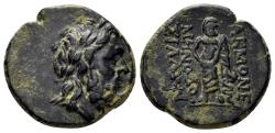 Ancient Coins - Phrygia, Akmoneia. 2nd-1st century BC. AE 18mm (3.72 gm). BMC 16; SNG von Aulock 3366