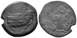 Ancient Coins - Mysia, Kyzikos. 3rd century BC. AE 28mm (11.50 gm). Von Fritze III, 11