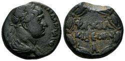 Ancient Coins - Syria, Chalcidice. Chalcis. Trajan. 98-117 AD. AE 22mm (13.05 gm). Butcher 1b