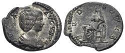 Ancient Coins - Julia Domna. Augusta, 193-217 AD. AR Denarius (3.07 gm, 19mm). Rome mint. Struck 207-211 AD. RIC IV 644 (Severus)