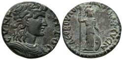 Ancient Coins - Phrygia, Temenothyrai. 3rd century AD. AE 24mm (8.62 gm). BMC Phrygia p. 411, 17