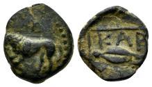 Ancient Coins - Thrace, Kardia. Circa 357/46-309 BC. AE 12mm (1.55 gm). SNG Copenhagen 869