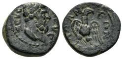 Ancient Coins - Phrygia, Apameia. Imperial Times, late 2nd century AD. AE 15mm (3.30 gm). SNG Copenhagen 197