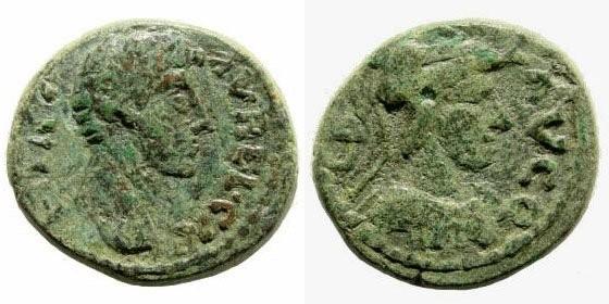 Ancient Coins - Cilicia, Seleucia ad Calycadnum. Marcus Aurelius Caesar, 139-161 AD. AE 19mm (4.50 gm). Apparently unpublished