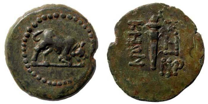 Ancient Coins - Mysia, Kyzikos. Circa 2nd century BC. Æ 25.95 mm (7.27 gm, 6h). SNG France 490