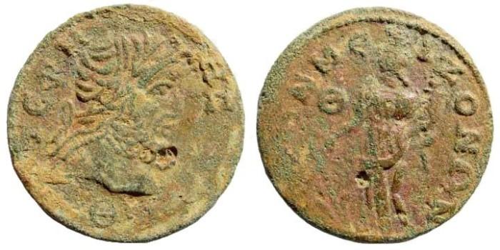 Ancient Coins - Pisidia, Termessos. 3rd century AD. AE 29mm (11.11 gm). SNG von Aulock 5359 (same obv. die)