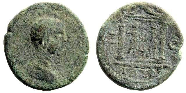 Ancient Coins - Judaea, Gaza. Geta, 198-211 AD. AE 23mm (11.15 gm). Dated CY 260, 199/200 AD. Yashin, Ascalon to Raphia, 431