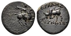 Ancient Coins - Ionia, Magnesia ad Maeandrum. 3rd century BC. AE 14mm (2.60 gm). Münsterberg pg. 29