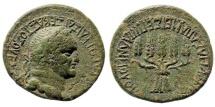 Ancient Coins - Phrygia, Apameia. Vespasian, 69-79 AD. AE 25mm (9.00 gm). RPC II 1389