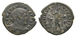 Ancient Coins - Constantine I. 307/310-337 AD. AE Follis (3.41 gm, 20mm). Treveri (Trier) mint. Struck 317 AD. RIC VI 131