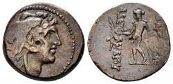 Ancient Coins - Seleukid Kingdom. Alexander I Balas. 152-145 BC. AE 18mm (5.05 gm). Antioch mint. Struck 150-146 BC. SNG Spaer 1458