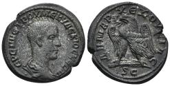 Ancient Coins - Syria, Seleucis and Pieria. Antioch. Herennius Etruscus, as Caesar, 249-251 AD. AR Tetradrachm (12.21 gm, 25mm). Prieur 628
