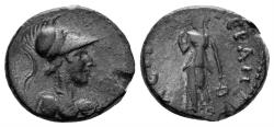 Ancient Coins - Phrygia, Hierapolis. Imperial Times, circa 2nd century AD. AE 15mm (2.07 gm). SNG von Aulock 3620; SNG Copenhagen 418; BMC 13
