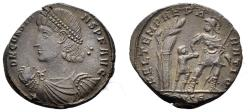 Ancient Coins - Constans. 337-350 AD. AE Centenionalis (4.41 gm, 21mm). Constantinople mint. Struck 347/8 AD. RIC VIII 86