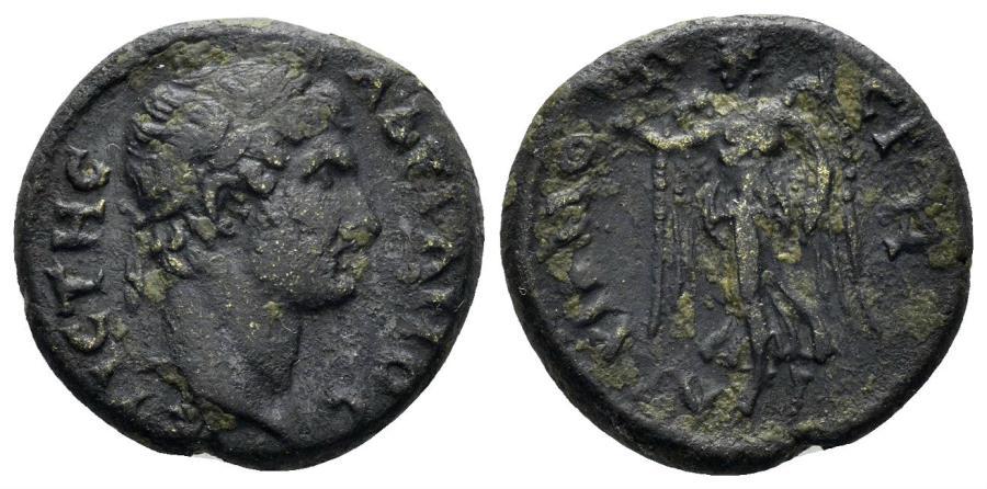 Ancient Coins - Lydia. Stratonikeia-Hadrianopolis. Hadrian 117-138 AD. AE 18mm (4.26 gm). RPC Online 1781
