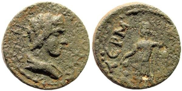 Ancient Coins - Pisidia, Termessos. 3rd century AD. AE 19mm (6.53 gm). SNG BN Paris 2156