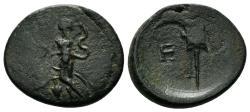 Ancient Coins - Pisidia, Etenna. 1st century AD. AE 18mm (3.63 gm). Hans von Aulock, Pisidien, 516-27