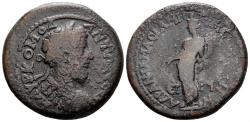 Ancient Coins - Pontos, Amaseia. Commodus, 177-192. AE Pentassarion (21.39 gm, 32mm). Datd CY 190 (190/1 AD). RPC IV.3 online 5313