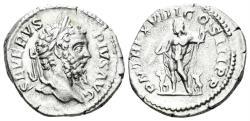 Ancient Coins - Septimius Severus. 193-211 AD. AR Denarius (3.14 gm, 20mm). Rome mint. Struck 209-210 AD. RIC IV 226