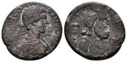 Ancient Coins - Phoenicia, Akko-Ptolemais. Caracalla 198 - 217 AD. AE 24mm (9.83 gm). Kadman (Akko) 162