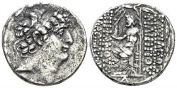 Ancient Coins - Seleucis and Pieria, Antioch. Augustus. 27 BC-14 AD. AR Tetradrachm (15.19 gm, 27mm). Unpublished variant