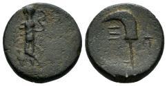 Ancient Coins - Pisidia, Etenna. 1st century AD. AE 16mm (3.65 gm). Hans von Aulock, Pisidien, 516-27