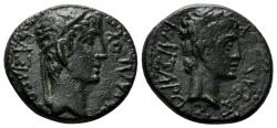 Ancient Coins - Thracian Kingdom. Rhoemetalces I, 11 BC-12 AD. AE 19mm (4.61 gm). SNG Copenhagen 1193