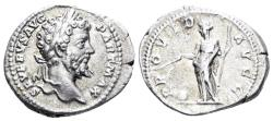 Ancient Coins - Septimius Severus. 193-211 AD. AR Denarius (3.35 gm, 20.5mm). Rome mint. Struck 200-201 AD. RIC IV 166
